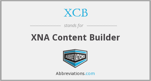 What does XCB stand for?