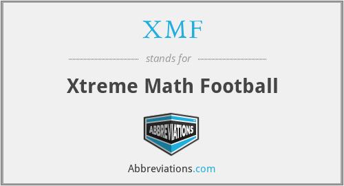 XMF - Xtreme Math Football