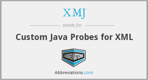 What does XMJ stand for?