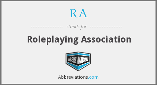 RA - Roleplaying Association