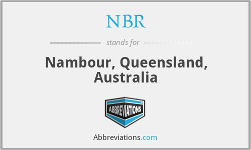 NBR - Nambour, Queensland, Australia