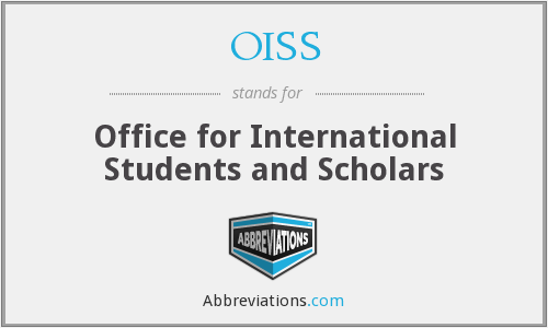 OISS - Office for International Students and Scholars