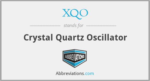 XQO - Crystal Quartz Oscillator