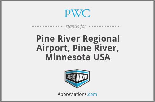 PWC - Pine River Regional Airport, Pine River, Minnesota USA