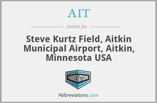 AIT - Steve Kurtz Field, Aitkin Municipal Airport, Aitkin, Minnesota USA