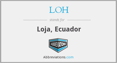 What does LOH stand for?