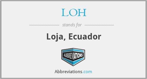 LOH - Loja, Ecuador