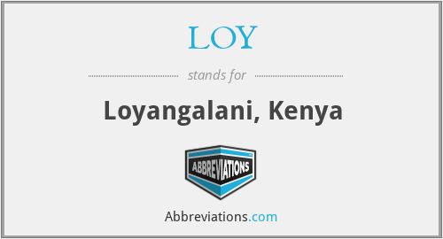 LOY - Loyangalani, Kenya