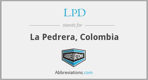 LPD - La Pedrera, Colombia