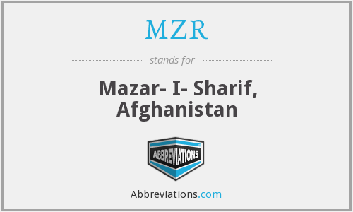 What does MZR stand for?