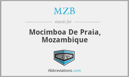 MZB - Mocimboa De Praia, Mozambique