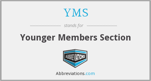 YMS - Younger Members Section