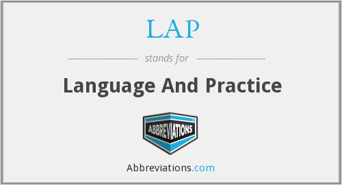 LAP - Language And Practice