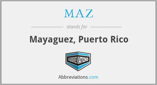 MAZ - Mayaguez, Puerto Rico