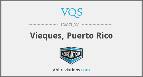 What does VQS stand for?