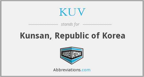 KUV - Kunsan, Republic of Korea