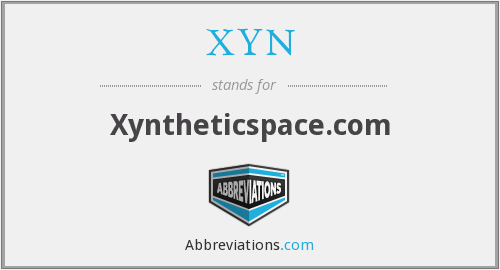 What does XYN stand for?