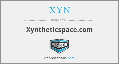 XYN - Xyntheticspace.com