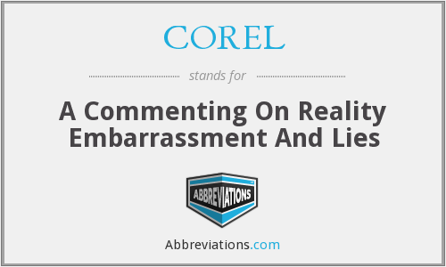 What does COREL stand for?