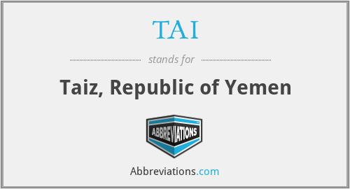 TAI - Taiz, Republic of Yemen