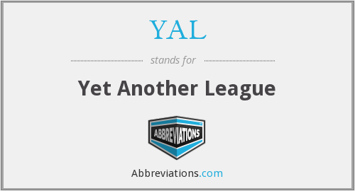 YAL - Yet Another League