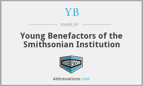 YB - Young Benefactors of the Smithsonian Institution
