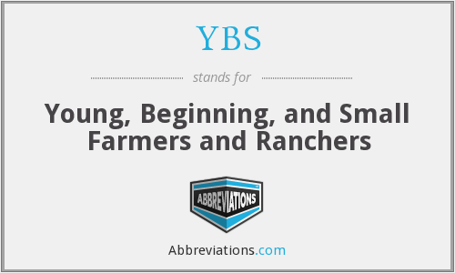 YBS - Young, Beginning, and Small Farmers and Ranchers
