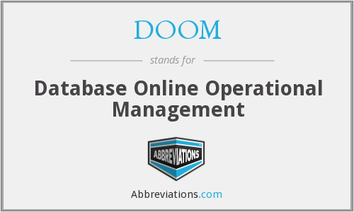 DOOM - Database Online Operational Management