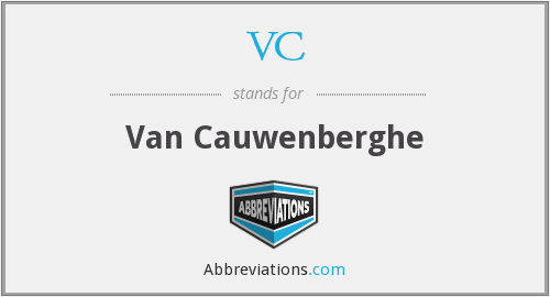 VC - Van Cauwenberghe