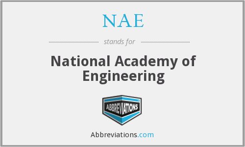 NAE - National Academy of Engineering