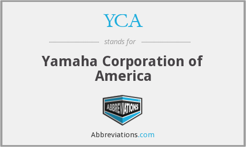 YCA - Yamaha Corporation of America