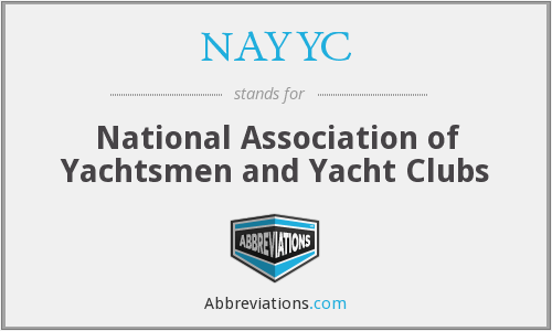 NAYYC - National Association of Yachtsmen and Yacht Clubs