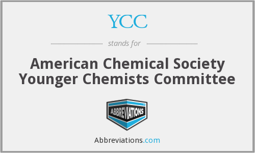 YCC - American Chemical Society Younger Chemists Committee