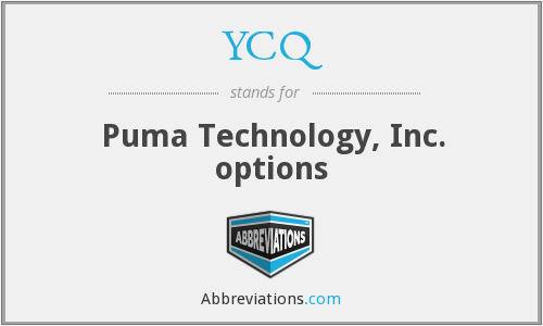YCQ - Puma Technology, Inc. options