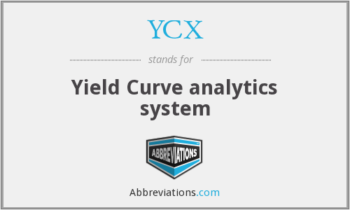 YCX - Yield Curve analytics system