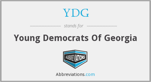 YDG - Young Democrats Of Georgia