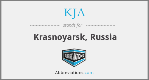 What does KJA stand for?