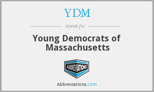 YDM - Young Democrats of Massachusetts