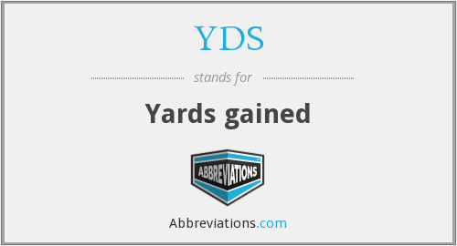 What does YDS stand for?