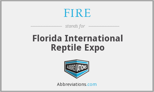 FIRE - Florida International Reptile Expo