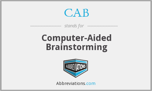 CAB - Computer-Aided Brainstorming