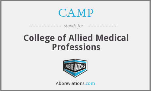 CAMP - College of Allied Medical Professions