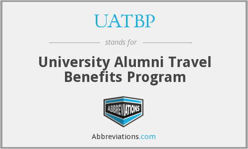 What does UATBP stand for?
