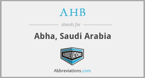 AHB - Abha, Saudi Arabia