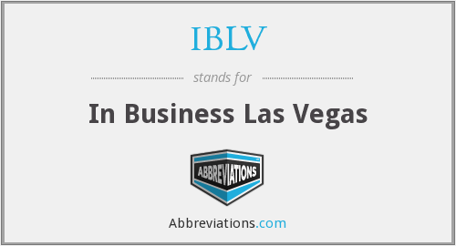 IBLV - In Business Las Vegas