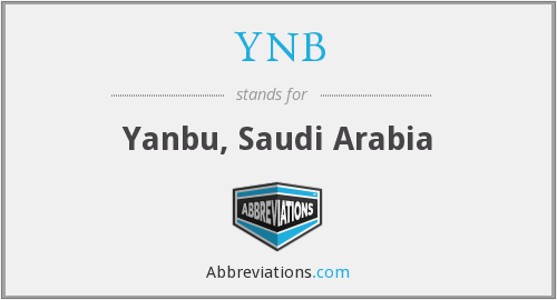 YNB - Yanbu, Saudi Arabia