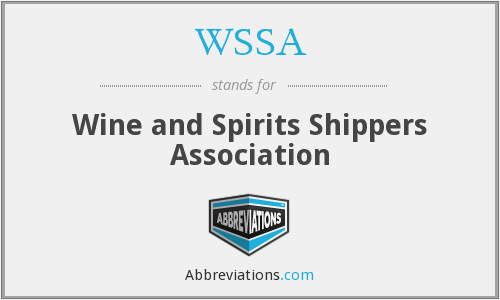 WSSA - Wine and Spirits Shippers Association