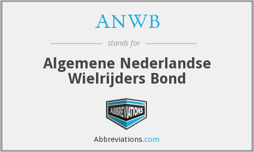 ANWB - Algemene Nederlandse Wielrijders Bond