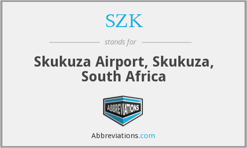 SZK - Skukuza Airport, Skukuza, South Africa
