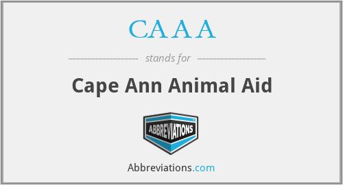CAAA - Cape Ann Animal Aid
